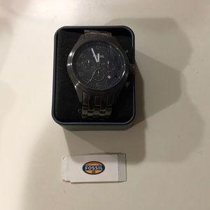 Men's fossil watch gunmetal grey